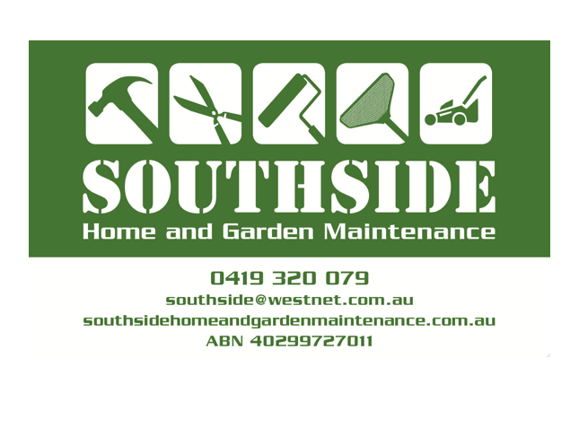 Southsidehomeandgardenmaintenance southside home and Homes and gardens logo